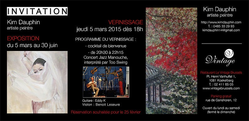 invitation vernissage Kim pour impression