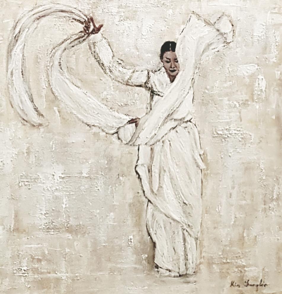 sens blanc fluidité vent art coréen splendeur...sense white fluidity iwind Korean art splendor ...
