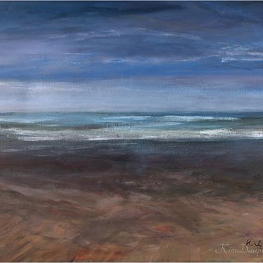 The sea … – acrylic, 60×50 cm (2013)