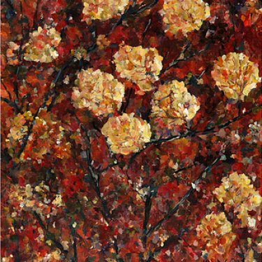 The Autumn leaves – acrylic, 55×40 cm (2013)
