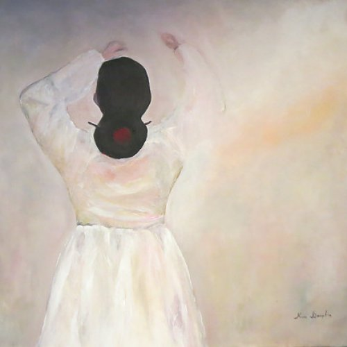 The woman in hanbok  – acrylic, 60×70 cm (2014)