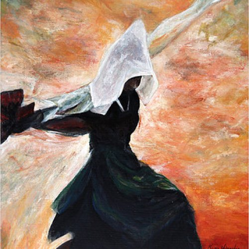 The dark dancer… – acrylic, 40×53 cm (2013)